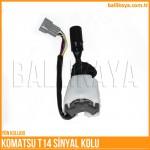 komatsu-t14-sinyal-kolu
